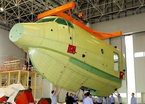 中国自主研发的大型水陆两栖飞机