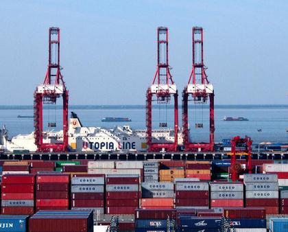 江苏省2015年港口货物吞吐量超23亿吨