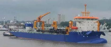 中国再添1艘超大挖泥船,造岛神器,投资1.6亿欧元