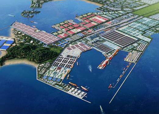 港口 码头 平面图 521_374图片