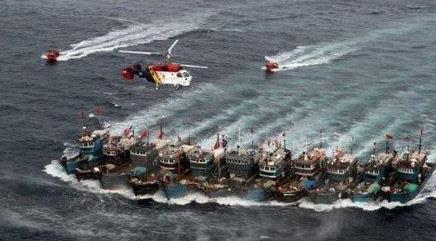 象山远洋渔船成功救起44名遇险船员
