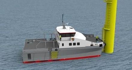 英辉南方接获英国船东一艘新型风电运维船订单