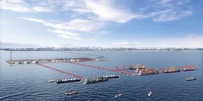 如东洋口港港口配套能力再升级