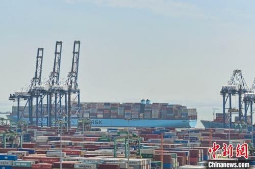 广州港集团开辟131条外贸航线 覆盖海内外主要港口